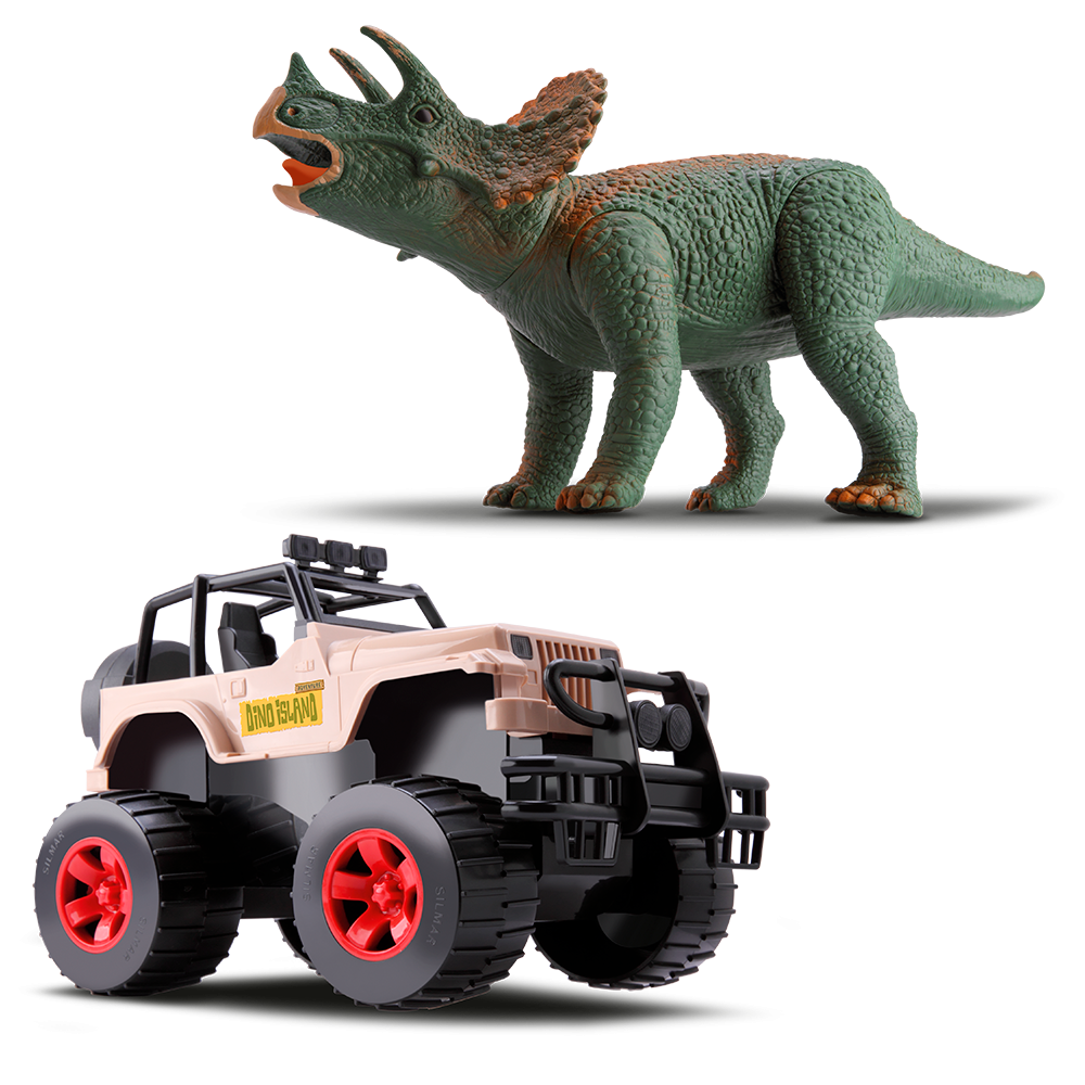 Jipe e Triceratops