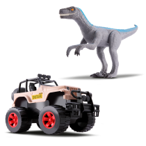 Jipe e Velociraptor