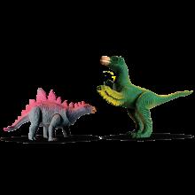 Estegossauro E Deinonychus