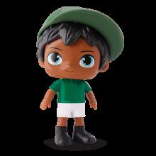 Max Futebol Verde E Branco Negro
