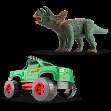 Caminhonete e Triceratops