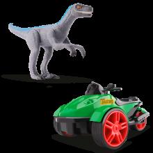 Triciclo c/ Fricção e Velociraptor