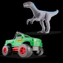 Caminhonete e Velociraptor