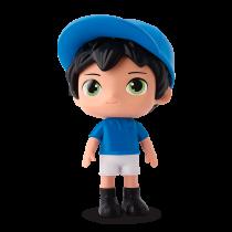 Max Futebol Azul E Branco